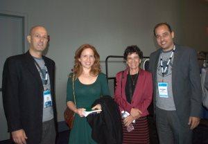 Erez Krispin, Stav Shapir, Anat Saragusti and Mohammad Owedah